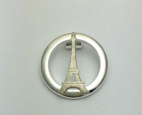 Paris Insel Anhänger Kette Schmuck