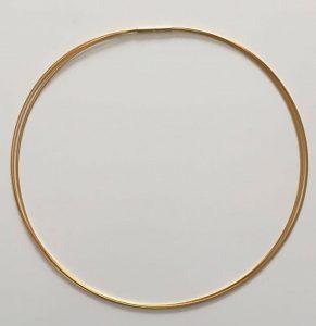 Stahlseil 5-Reihig in Gold
